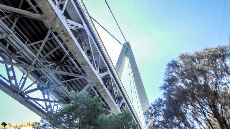 under the Batman Bridge