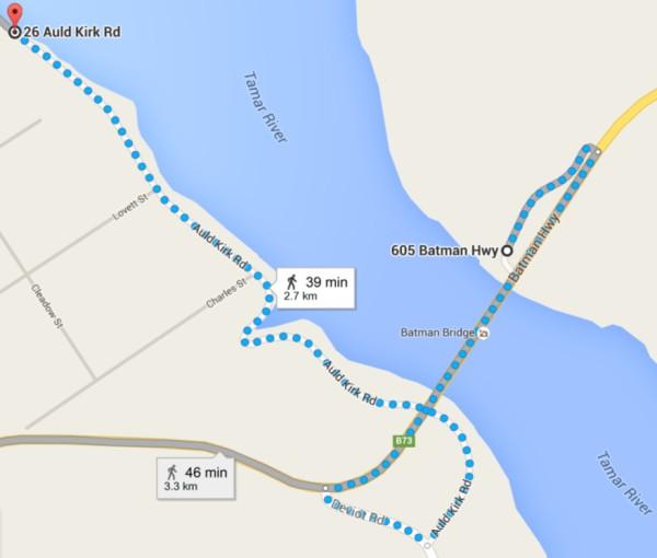 journey across the batman bridge
