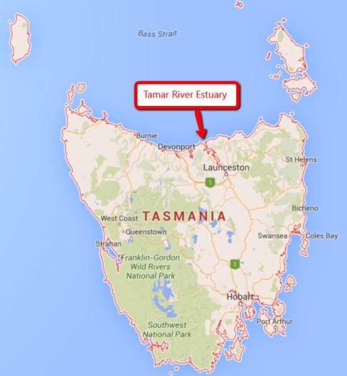 Tasmanian Map