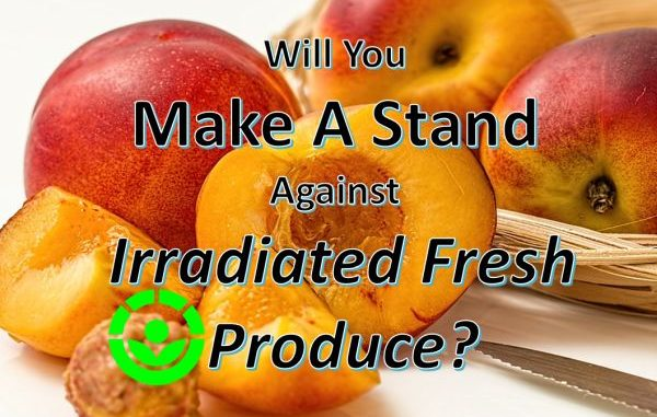fresh produce to be irradiated